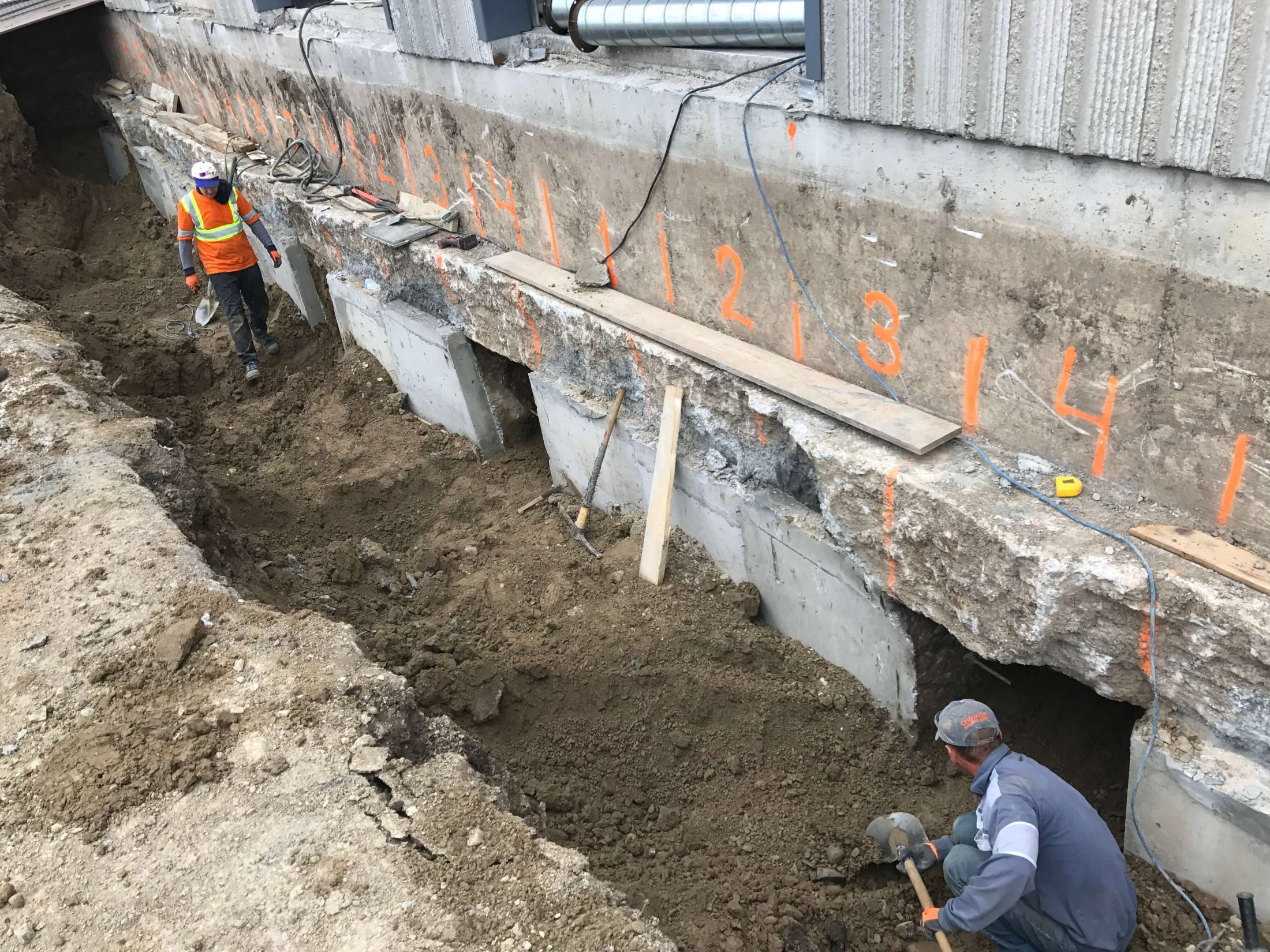Foundations And Underpinning Absolute Construction Toronto - Under-pinning-foundations